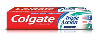Todas CREMA DENTAL TRI.ACCIO.90GR.COLGATE
