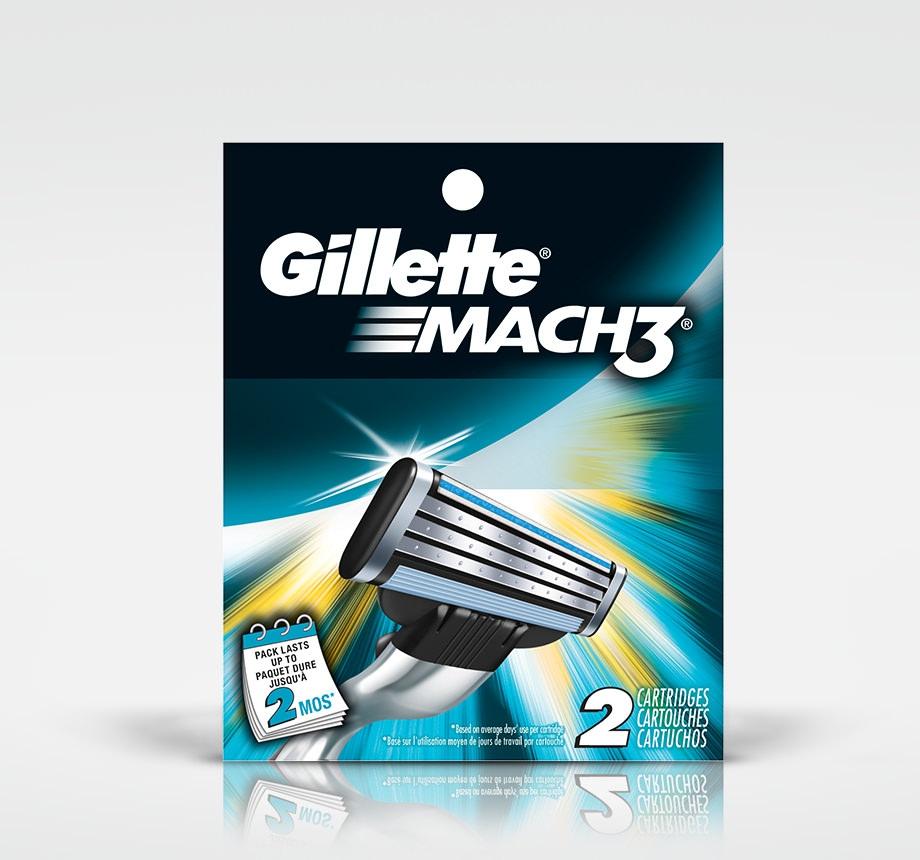 MACH3 REPUESTO X2 U........GILLETTE