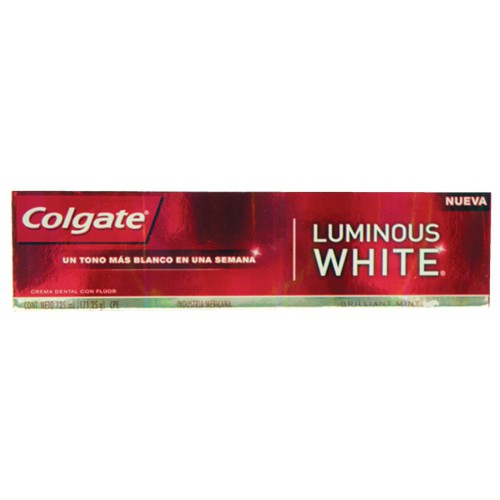 Todas CREMA DENTAL LUMINOUS.90GR..COLGATE