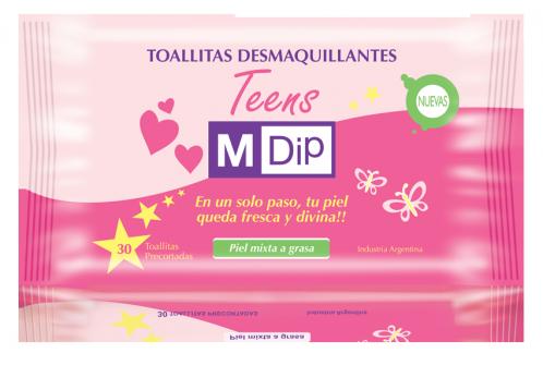 TOALLAS DESMAQ.MIXTA/GRASA 30U MDIP