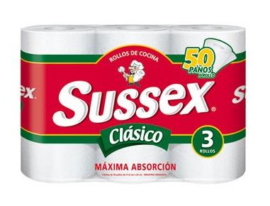 Todas ROLLO COCINA 30U 50P(CLASICO)SUSSEX