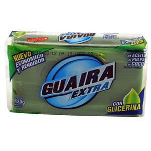 JABON EN PAN VERDE 150GR.....GUAIRA