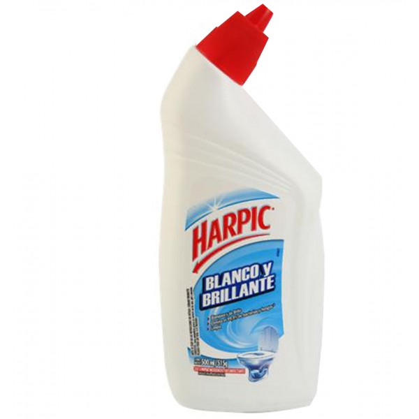 GEL BLANCO Y BRILLANTE 500CC.HARPIC