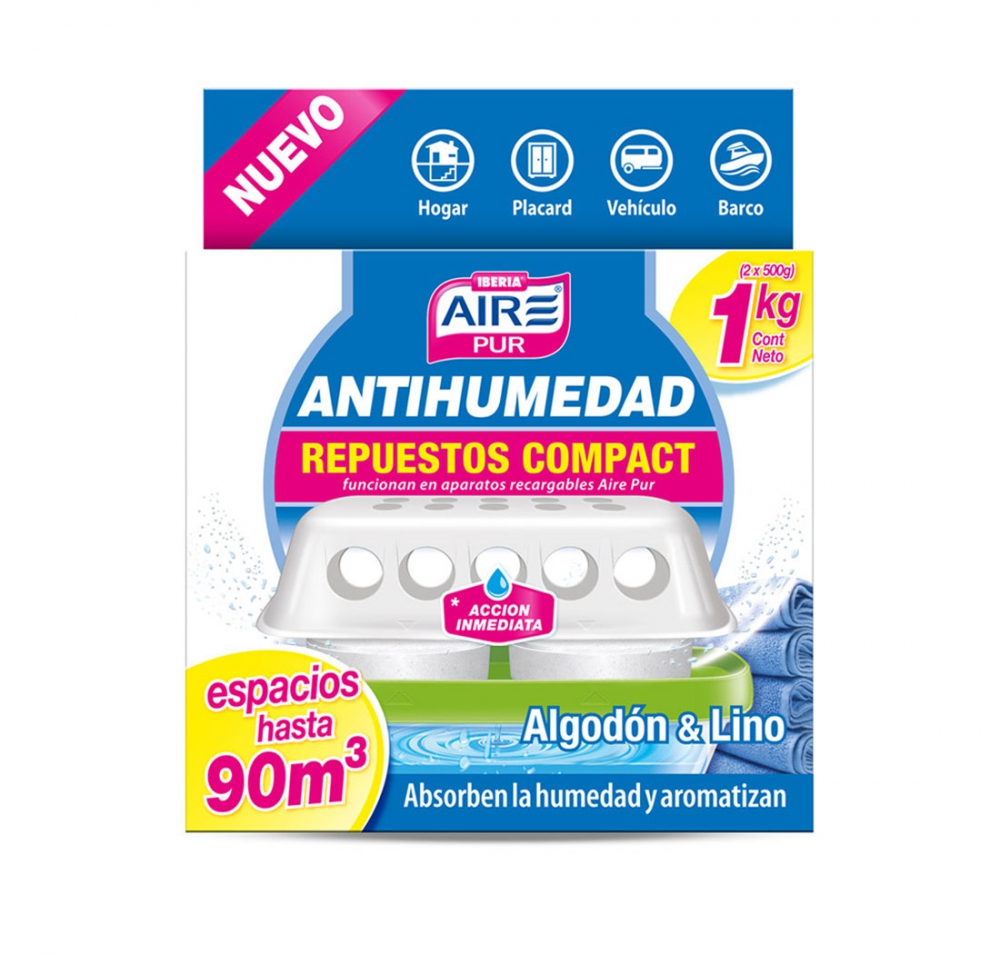 Todas ABSORBE.HUME REP.1K(1696)....AIRPUR
