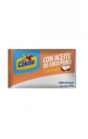 Todas JABON EN PAN COCO PURO.200G..COLOSO