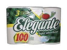 Todas ROLLO COCINA 3UNID 100PAÑOS.ELEGANT