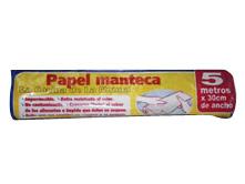 Todas ROLLO DE PAPEL MANTECA 30CMX5M.....