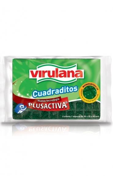 Todas FIBRA ESPONJA CUADRADITOS..VIRULANA