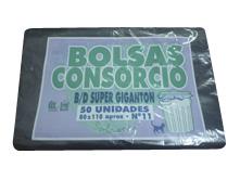 Todas BOLSA CONS.80X110 50U(37MIC).NEGRAS