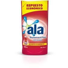 Todas QUITA MANCHA R/COLO.400ML(DOY)..ALA