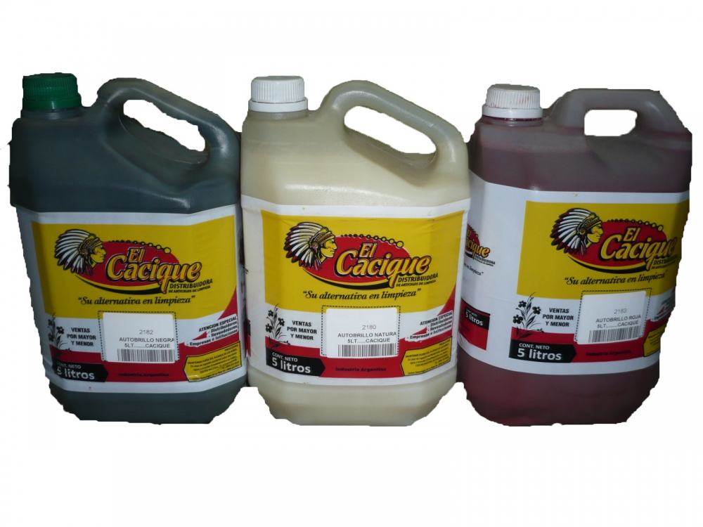 Todas AUTOBRILLO NATURAL 5LT......CACIQUE