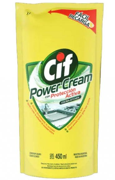 Todas POWER CREAM COCINA X500 DOYPACK.CIF