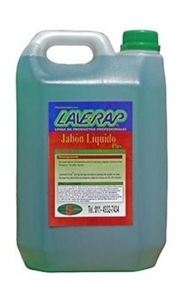 Todas JABON LIQ.BAJA ESP 5 LTS....LAVERAP