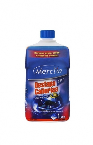 Todas DESTAPACAÑERIAS GEL X1LT....MERCLIN