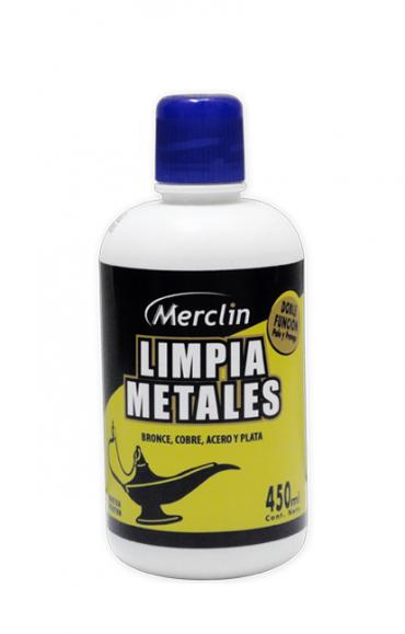 Todas LIMP.METAL LIQ 450CC........MERCLIN