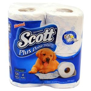 Todas PAPEL HIG.X4 30MTS D/H.PLUS...SCOTT
