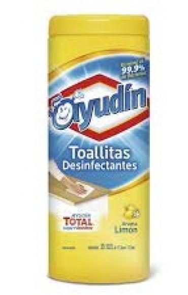 Todas TOALLAS DES LIMON(TARRO)35U..AYUDIN
